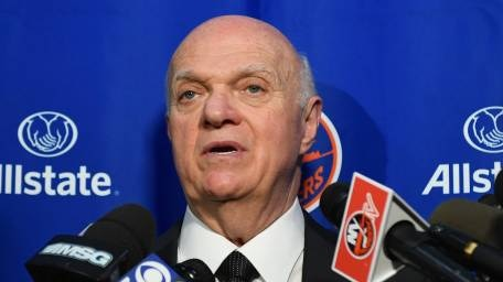 Lou Lamoriello not letting the Islanders get ahead of themselves