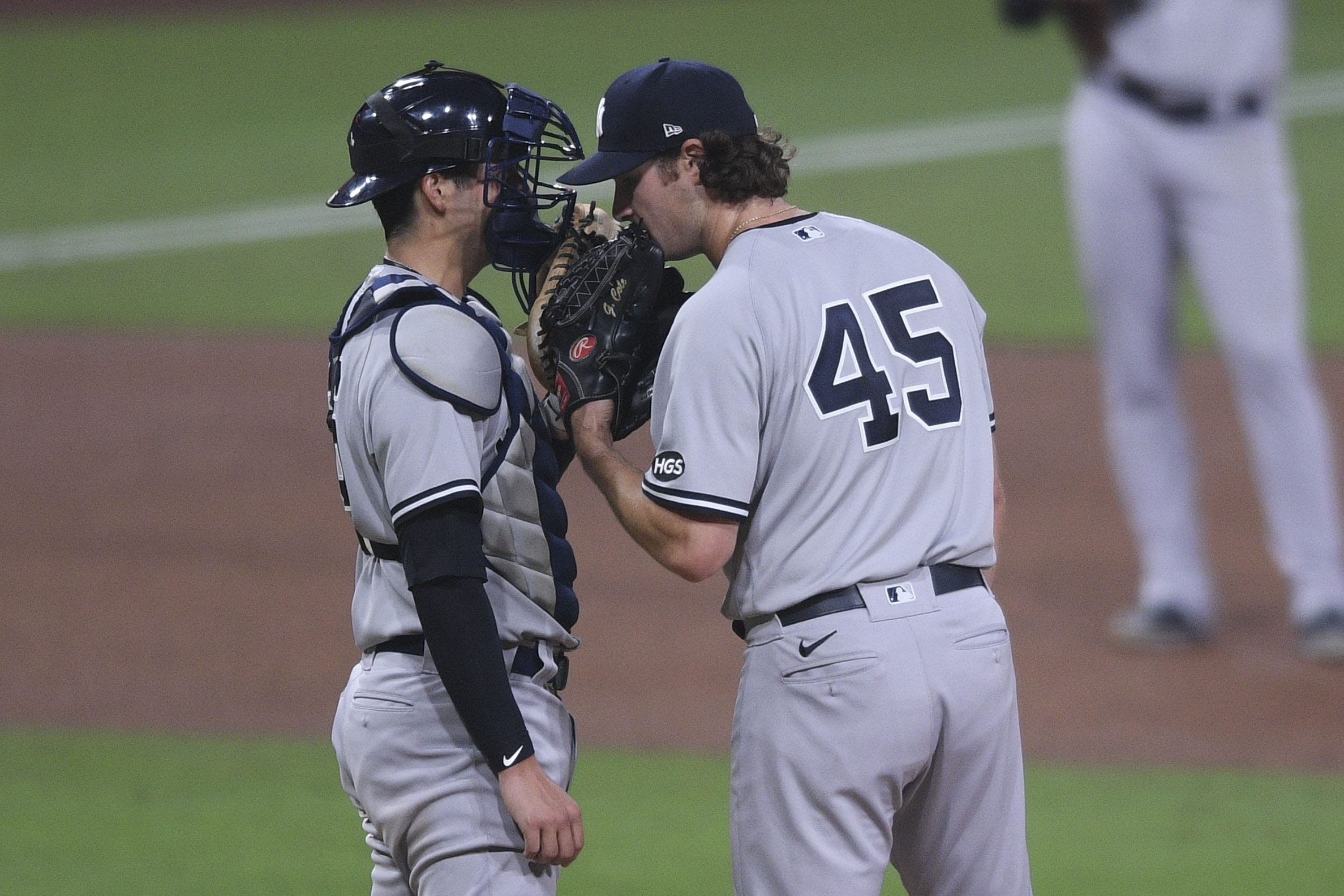 New York Yankees, Kyle Higashioka, gerrit cole