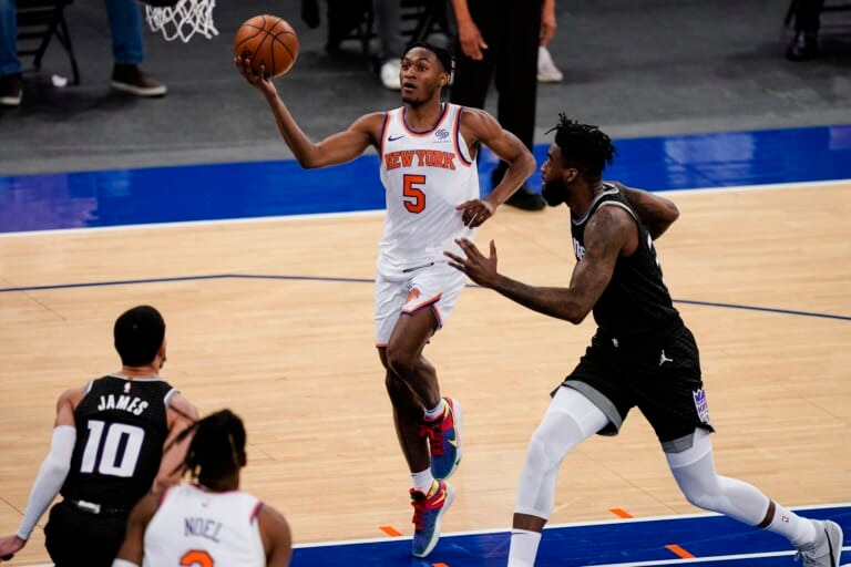 Norvelle Pelle, new york knicks, immanuel quickley