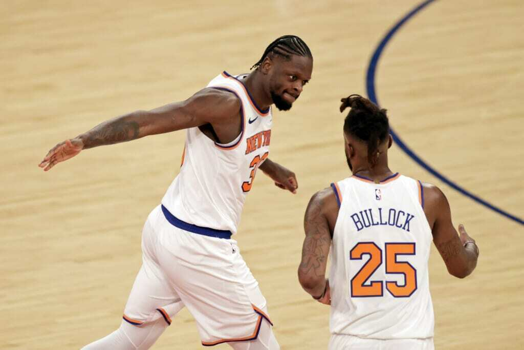 new york knicks, julius randle, reggie bullock