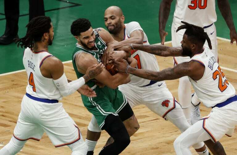 Knicks facing biggest challenge of season after disappointing loss to Celtics