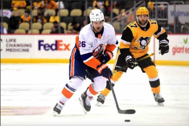 Islanders' Oliver Wahlstrom showing he's not intimidated by the playoff stage