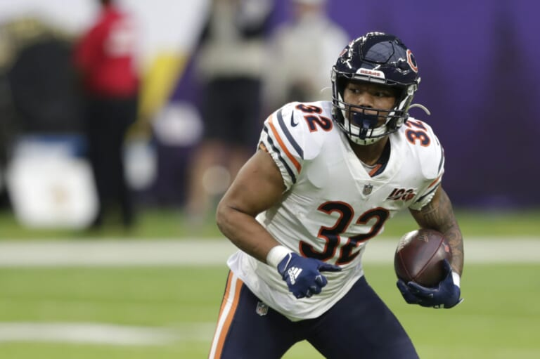 Chicago Bears RB David Montgomery is set for a big year three