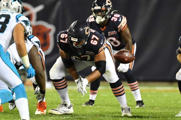 Cohesion is a key for Chicago Bears OL Sam Mustipher