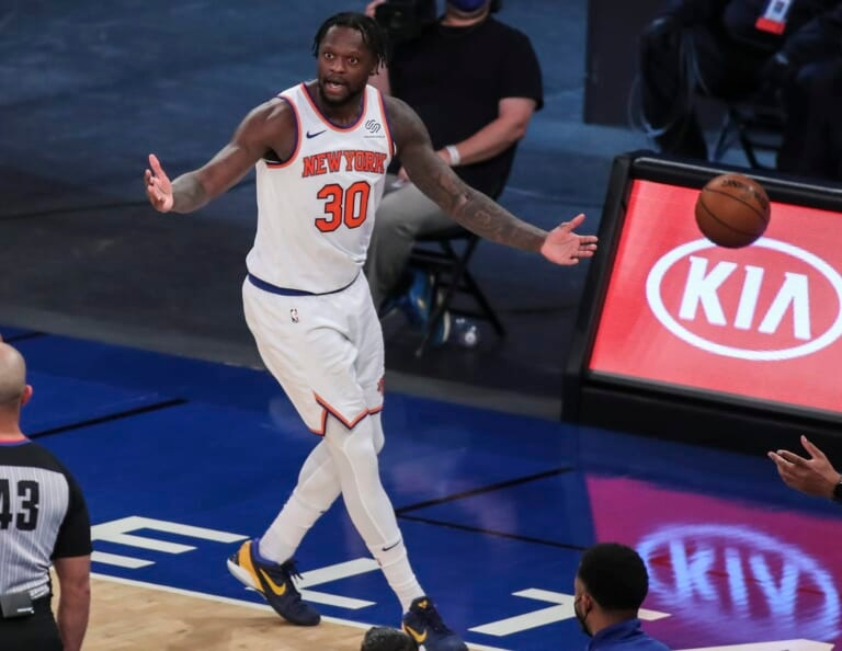 Knicks' failure to pick up Julius Randle exposes vulnerability in loss to Magic