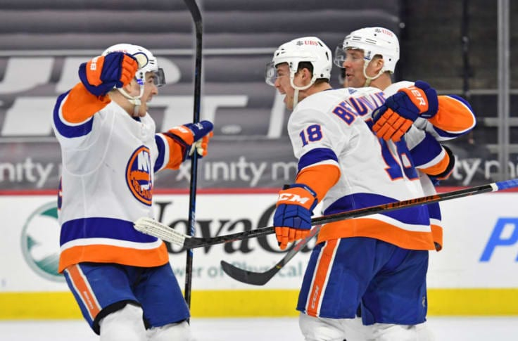 """Islanders' own """"French Connection"""" were outstanding in first round series win"""