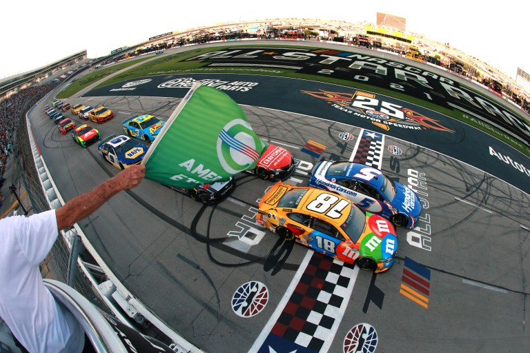 NASCAR: Kyle Larson keeps rolling, wins All-Star Race at Texas