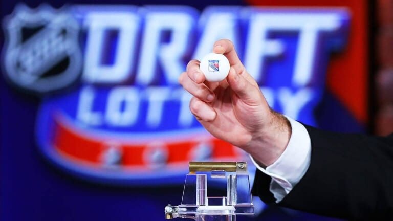 NHL Draft Lottery to be held Wednesday, Rangers have small chance at No.1 pick