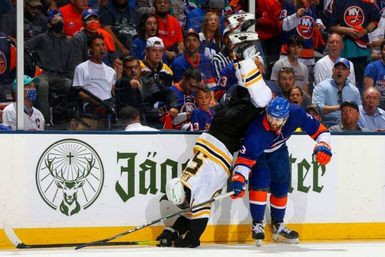The Islanders should be sending the Bruins a thank you for the Carlo deal