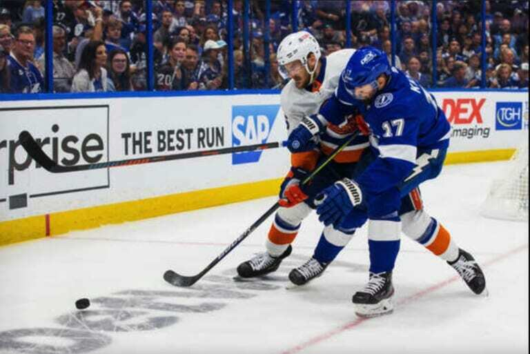 Don't let anyone fool you, the Islanders were the Lightning's toughest challenge in repeating as champs