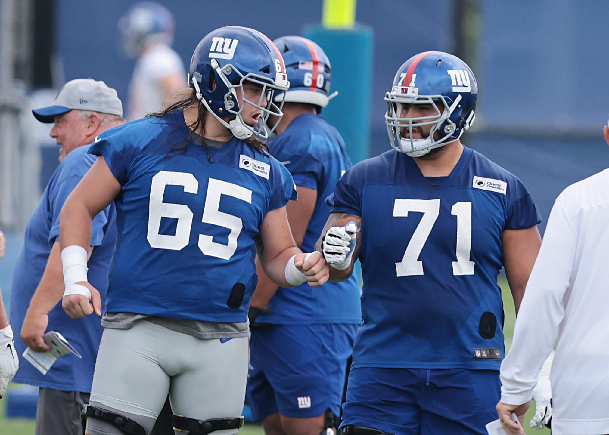 nick gates, will hernandez, new york giants