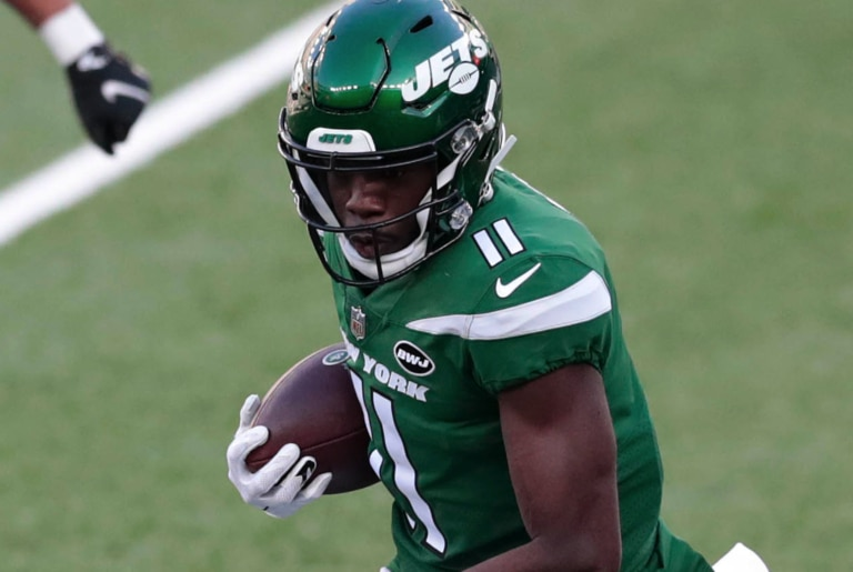 New York Jets WR Denzel Mims will be active vs. Tennessee