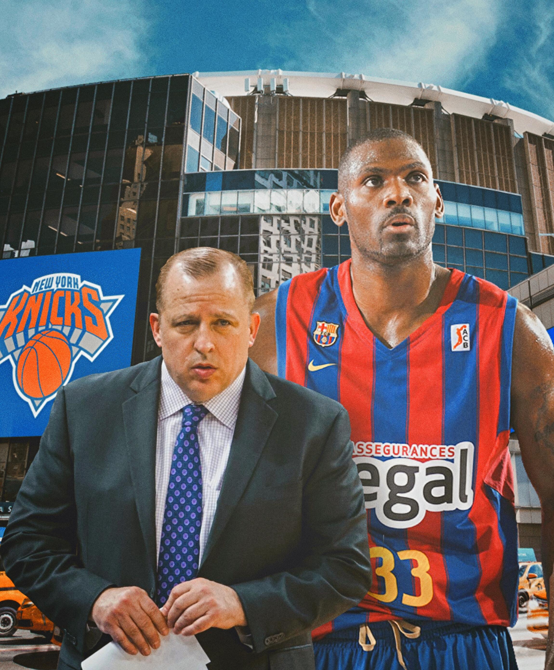 Knicks, rom thibodeau, Pete mickeal