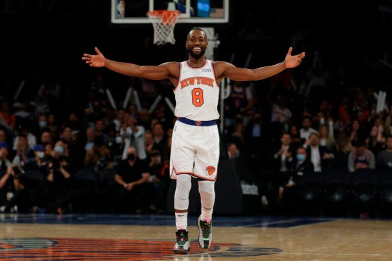 Knicks see the fruits of Kemba Walker as he rains down fire on 76ers