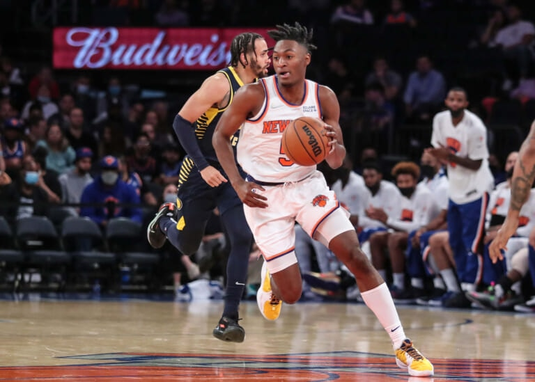 Knicks' Immanuel Quickley falling out of favor with Tom Thibodeau