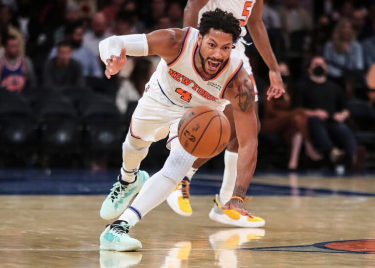 Knicks Notes: Derrick Rose is the not so secret ingredient, Robinson enjoys first action
