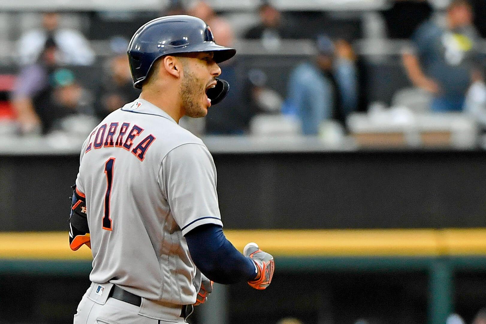 Carlos Correa, Houston Astros, yankees