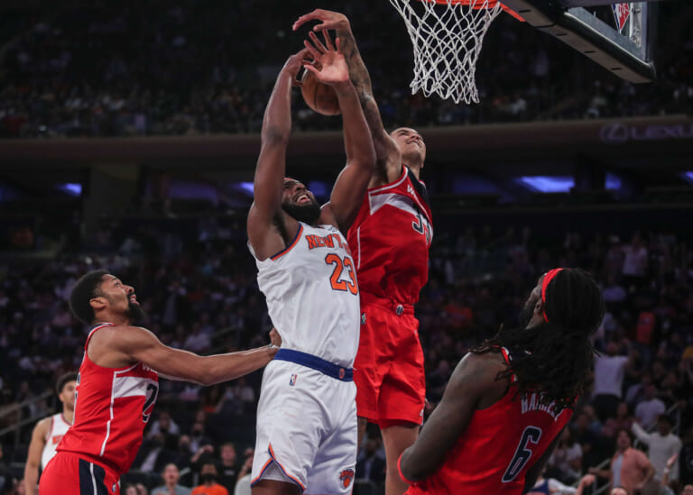 Knicks News: Mitchell Robinson says first action was 'bad', a few surprise players make 15-man roster