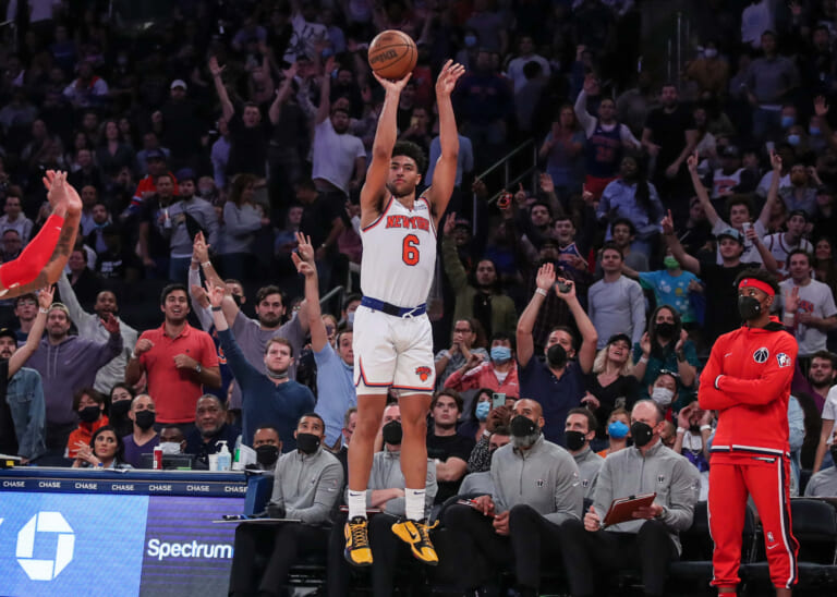 Knicks' Thibodeau showcases interesting player combo in win over Wizards