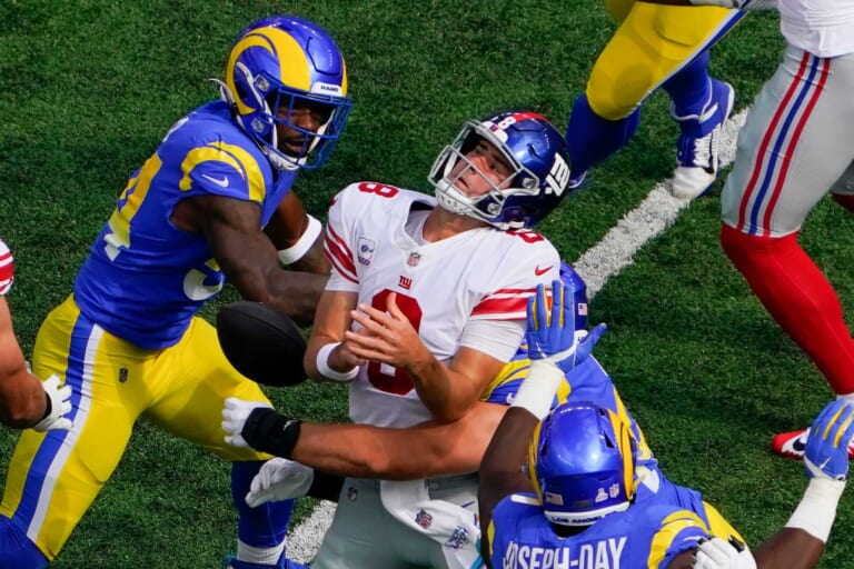 New York Giants get embarrassed by Los Angeles Rams, lose 38-11