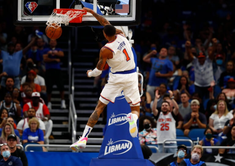 The Knicks are witnessing something special with Obi Toppin